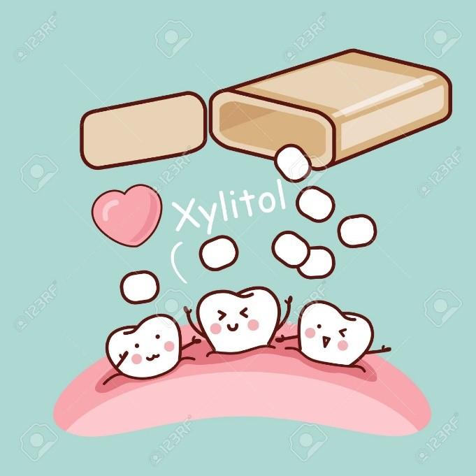 زایلیتول موثرترین ماده برای حفظ بهداشت دهان و دندان